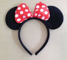 NEW Minnie Mouse Ear Headband Fancy Dress Costume Party
