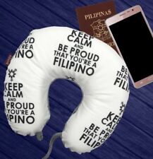 Celebrity Memory Foam Travel Neck Pillow U Shaped Cushion Keep Calm Proud to be