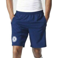 adidas MEN'S CHELSEA FC EU WOVEN SHORTS NAVY BLUE FOOTBALL SOCCER TRAINING NEW