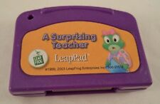 LeapFrog LeapPad Cartridge A Surprising Teacher Educational Electronic Boy Girl