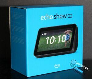 Amazon Echo Show 5 (2nd Gen) Smart Display Speaker - Charcoal 2021 version @NEW@
