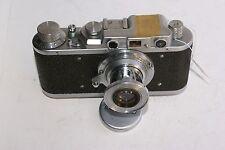 FED 1 type D de 1939/40, Fonctionnel + Industar 22 et cap.(voir, lire détails).