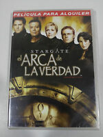 STARGATE EL ARCA DE LA VERDAD DVD ESPAÑOL ENGLISH NEW SEALED NUEVA