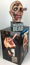 "Walking Dead 2012 Limited Zombie Head 11"" Display Statue / Storage Case Mint+Box"