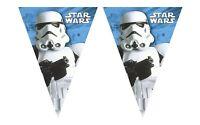 Wimpelkette Girlande Dekokette Star Wars Final Kinderparty Geburtstag 3m