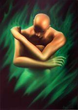 Jannys ART - ER - 70 x 100 cm Kunst Malerei Bilder Gemälde Original auf Leinwand