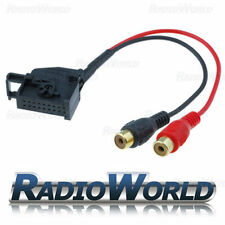 VW / Seat / Skoda Aux-IN Phono Adapter for IPOD/MP3 MFD2, RNS or RNS2 Stereo