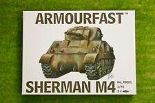 Armourfast Sherman M4 x 2 WWII Tank 1/72 set 99001