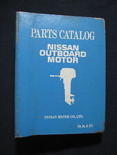 Nissan Outboard Motor Parts Catalog File No. M-267 [Ring-bound]