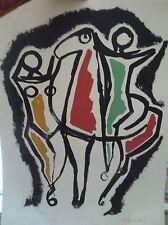 Marino MARINI (1901-1980) Lithographie épreuve d'artiste P1407