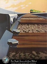 Minneapolis St. Louis Railway Peoria Railroad U.S. Travel Advertisement Poster