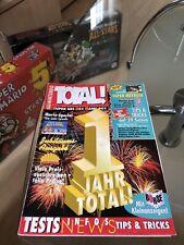 Nintendo Total Magazin Zeitschrift Heft Jubiläums Ausgabe 6/94 1 Jahr Total