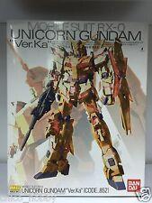 Bandai MG 1/100 Mobile Suit RX-0 Code 852 Hong Kong Unicorn Gundam Version Ka HK