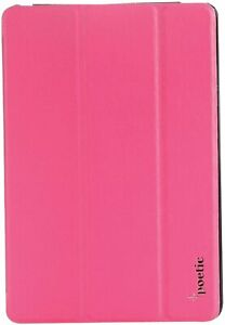 iPad Mini 2 Tablet Case Auto Wake/Sleep Feature Leather Smart Cover Magenta