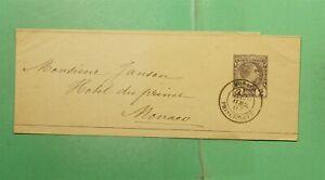 DR WHO 1887 MONACO STATIONERY WRAPPER  f97421