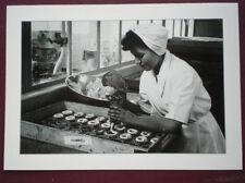 POSTCARD LTM-615 CROYDON FOOD PRODUCTION FINISHING ROOM 1950