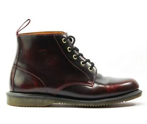 Dr. Martens Womens Emmeline Cherry Red Arcadia Ankle Boots Size 10L (US)
