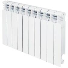 Hydronic Aluminium Heating Radiator 10 Section w/ Installation Kit 5000 BTU