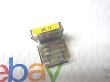 10 FUSES   SFE 14 AMP  GLASS FUSE IN  METAL BOX
