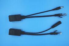 Power Over Ethernet Passive PoE Shielded Cable Kits RJ45 Black