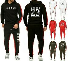 Mens Michael Air Legend 23 Jordan Tracksuit Hoodie & Pants Men Brand Sportswear