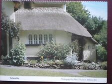 POSTCARD SOMERSET SELWORTHY - OLD THATCHED COTTAGE (1)