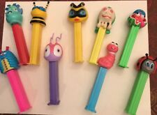 9 Pez Bugs Collectable Dispensers