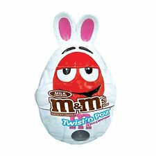 M&Ms White Bunny Twist and Pour Chocolate Candy Dispenser Toy