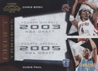 2009-10 Playoff Contenders Draft Tandems Gold #3 Chris Bosh Chris Paul #/100