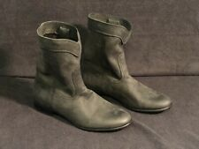 """New Size 8.5 Frye """"Cara Roper"""" Mid Calf Leather Boots Style # 3471443 Black"""