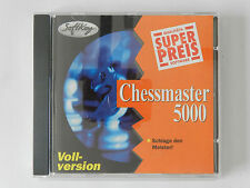 PC CD-ROM Chessmaster 5000