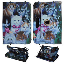 MULTI KITTEN FOR UNIVERSAL 6 INCH FOLIO CASE STAND TABLET COVER