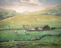 Jean-Francois Millet Grazing In The Vosges Fine Art Painting Print on Canvas SM