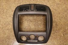 * 01 02 03 Mazda Protege Sedan Radio Climate Control Bezel Trim w Vents