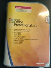 Microsoft Office Professional 2007 Upgrade Version mit CD