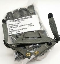 (25) PASGT Kevlar Helmet Retention Chin Strap Foliage Green FG-504 NSN NEW ACU