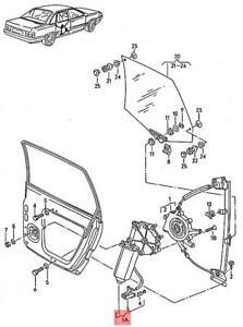 Genuine AUDI 100 Avant quattro 200 5000 Window Regulator With Motor 443839397D