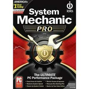 IOLO System Mechanic Pro (3 PC - 1 Year) Global Code (e-Delivery)