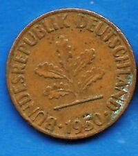 1 Pfennig 1950 Ebay