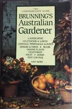 BRUNNINGS Australian Gardener 1985 HC Book VGC - A Must For Gardeners!