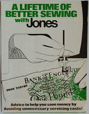 Original Jones guía Para Mejor Costura hermano (Máquina de Coser tirador de problemas)