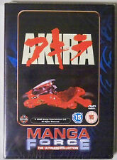 Manga Force Ultimate Collection Akira DVD Brand New and Sealed R2 PAL