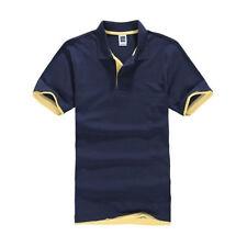 Herren Poloshirt Kurzarmshirt Polo Shirt T-Shirt Geschäft Sommer Freizeithemd XL