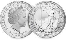 2012 SILVER BRITANNIA 1oz - SEALED IN ORIGINAL ROYAL MINT CAPSULE