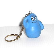 BARBAPAPA' 70s Italy pvc figure keychain - personaggio pvc portachiavi blu