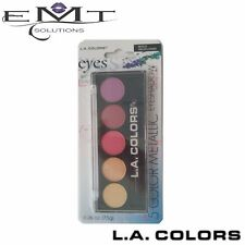L.A Colors 5 Color Metallic Eyeshadow - Wild Flowers 433 - Brand New -LA Colours