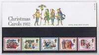 GB Presentation Pack 140 1982 Christmas Carols