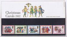 GB Presentation Pack 140 1982 Christmas Carols