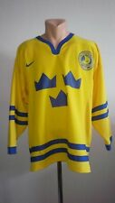 SWEDEN NATIONAL TEAM Jersey Nike WINTER OLYMPICS Hockey Men's Size S Authentic