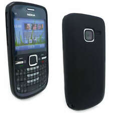 NEW Black Jelly Case Cover Gel Skin for Nokia C3-00 C3